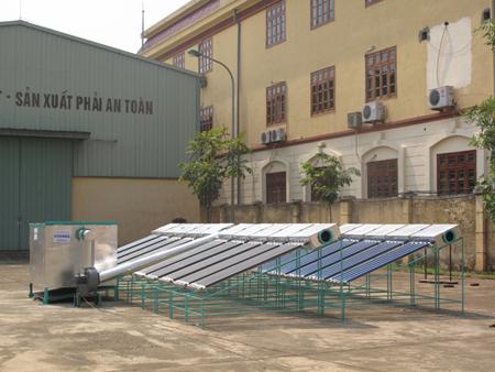 Máy sấy bằng năng lượng mặt trời từ chương trình đổi mới sáng tạo Việt Nam Phần Lan