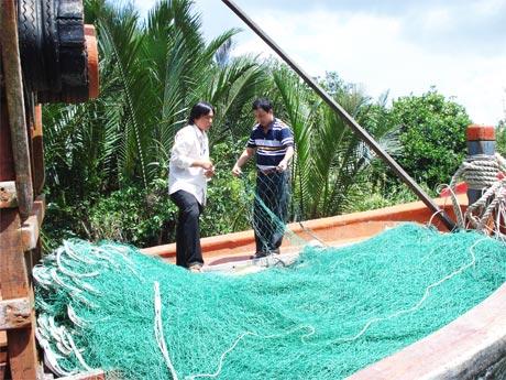 Tăng hiệu quả khai thác bằng lưới rê hỗn hợp
