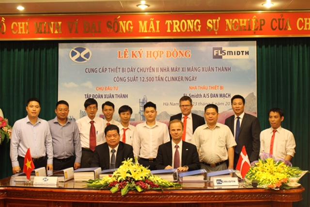 Tập đoàn Xuân Thành đầu tư dây chuyền xi măng hiện đại và lớn nhất thế giới