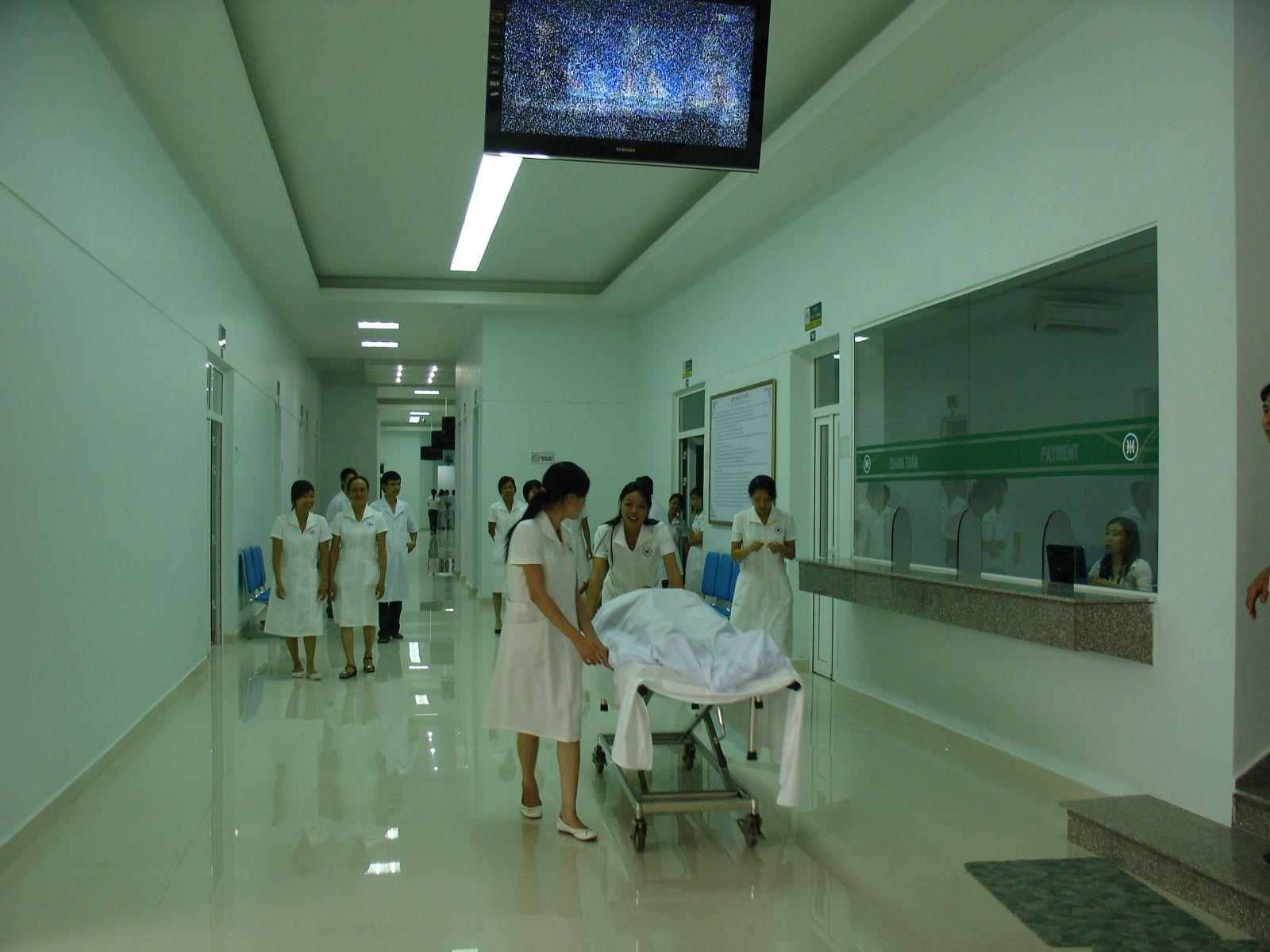 Khung phần mềm quản lý bệnh viện sẽ giúp tăng năng suất chất lượng làm việc