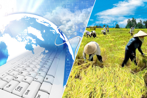 hát triển nông nghiệp bền vững cần thiết phải xây dựng một nền nông nghiệp điện tử