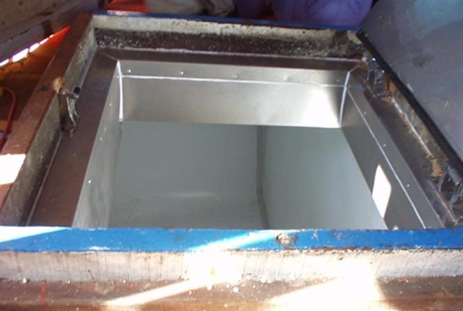 Hầm bảo quản hoàn thiện bằng vật liệu PU foam giúp tàu cá đảm bảo năng suất đánh bắt mà sản phẩm vẫn đạt chất lượng cao