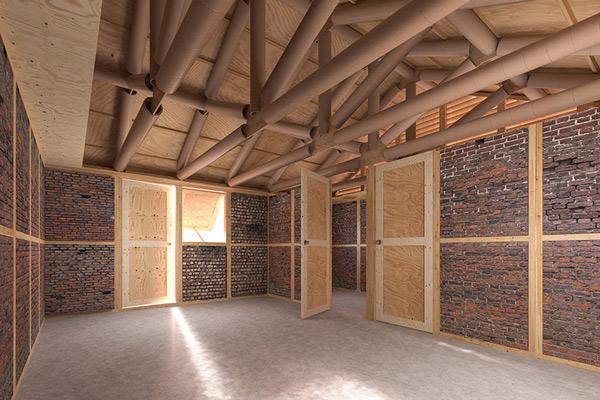 Ý tưởng tận dụng gạch vụn để nâng cao năng suất chất lượng ngành xây dựng cũng được kiến trúc sư Nhật áp dụng ở Nepal