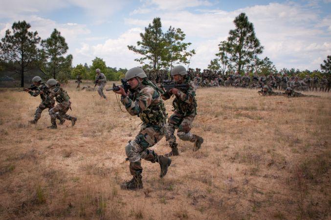 Force 18 là cuộc tập trận mặt đất đa phương đầu tiên diễn ra tại Ấn Độ
