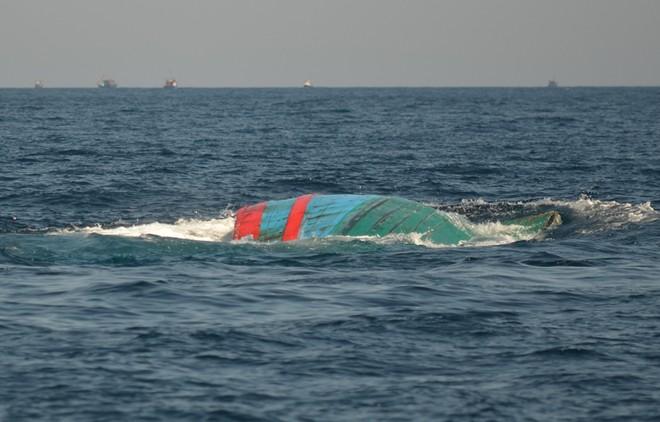 Trung Quốc phối hợp tìm kiếm 3 ngư dân Việt Nam mất tích trên biển