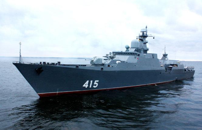 Nga đang từng bước hoàn tất cặp tàu hộ vệ lớp Gepard 3.9 cho Hải quân Việt Nam