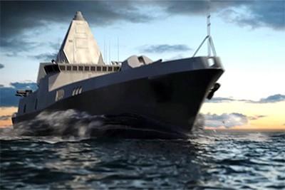 Tàu khu trục lớp Leader của Nga sử dụng hoàn toàn năng lượng hạt nhân