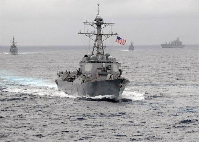 Tàu khu trục tên lửa USS Lassen là một trong những vũ khí quân sự nổi tiếng nhất thế giới hiện nay