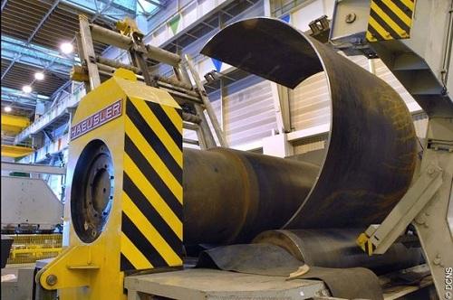 Thân tàu ngầm Barracuda được thiết kế bằng 21 khoang thép bền chắc