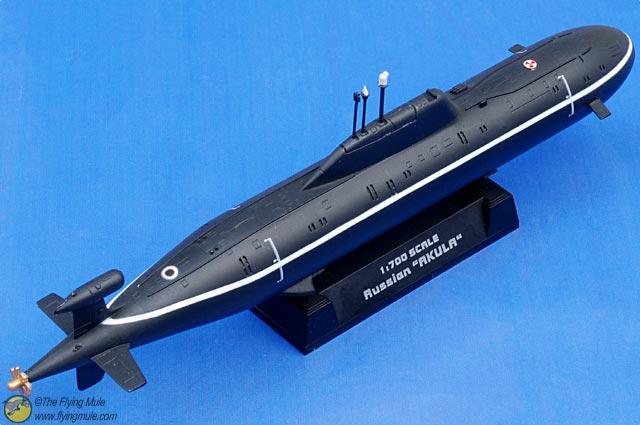 Mô hình của tàu ngầm hạt nhân lớp Akula