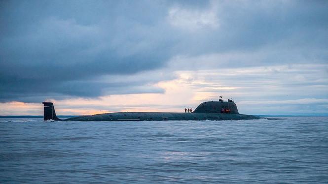 Tàu ngầm hạt nhân Severodvinsk của Hạm đội Phương Bắc