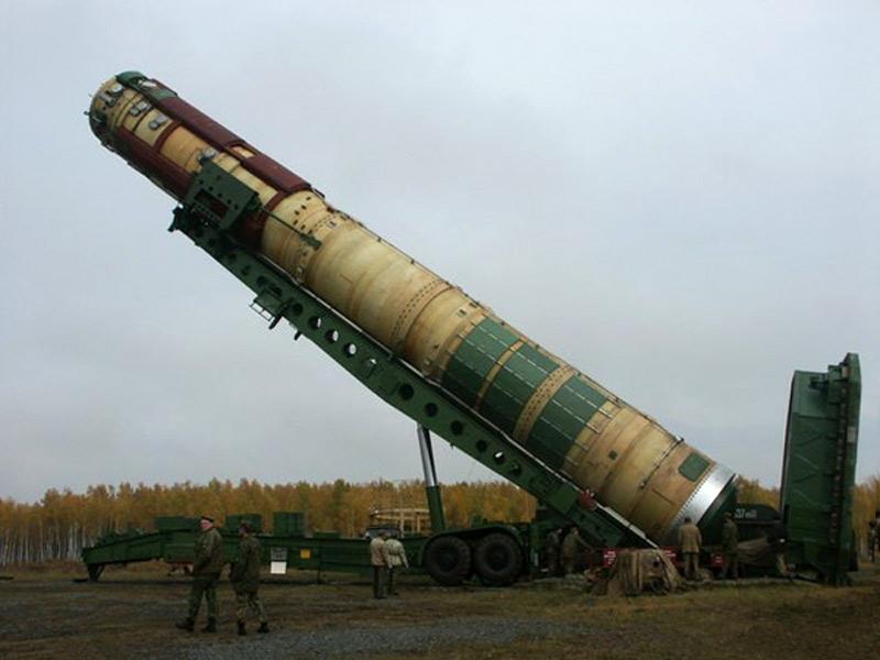 Tên lửa R-36M2 là một trong những tên lửa đạn đạo xuyên lục địa mạnh nhất thế giới.