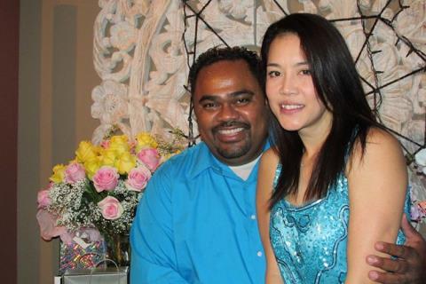 Anh sẵn sàng làm bệ đỡ vững chắc để Thu Phương gặt hái thành công trong sự nghiệp và gia đình hạnh phúc.