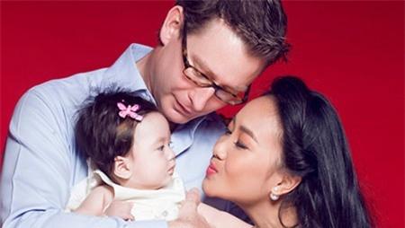 Khá ít thông tin về người chồng Tây của Đoan Trang được tiết lộ