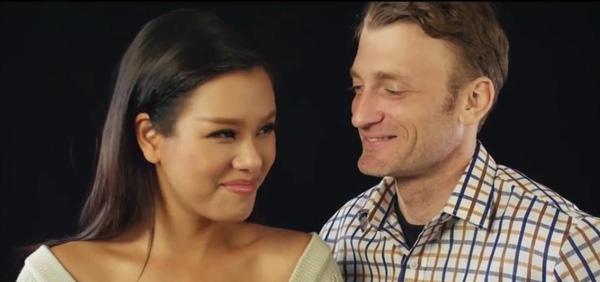 Phương Vy và Sean Trace hẹn hò gần 3 năm nhưng cô hiếm khi chia sẻ chuyện tình cảm của mình với báo giới.