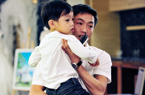 Ngoài ra, con trai của Hồ Ngọc Hà cũng có niềm đam mê xe giống như cha mình.