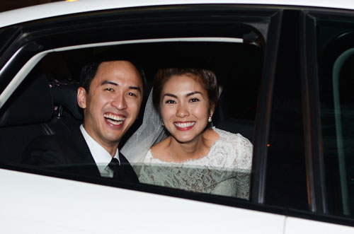 Vào tháng 11 năm 2012, sự kiện đám cưới của Tăng Thanh Hà được xem là 'hot' nhất trong năm của showbiz Việt.