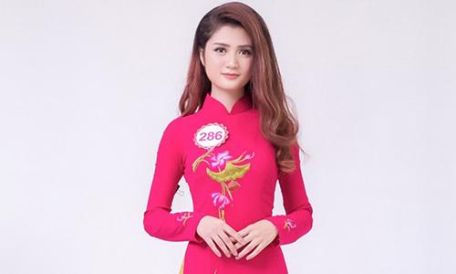 Trần Huyền Trang năm nay 20 tuổi, đến từ Quảng Ninh và đang học tại Đại học Mỹ thuật Công Nghiệp (Hà Nội).