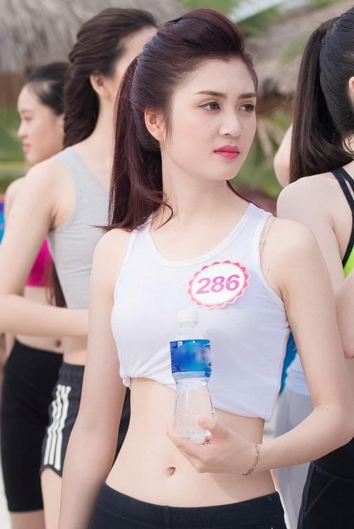 Hy vọng với lợi thế về hình thể, Huyền Trang có sẽ tiến xa hơn tại cuộc thi Hoa hậu Việt Nam