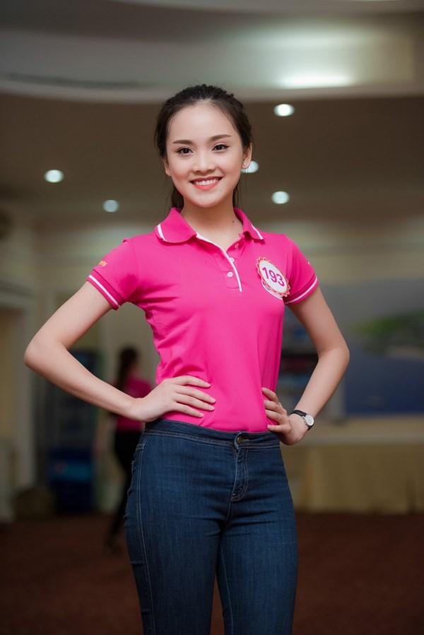 Khi đó, cô 15 tuổi và là học sinh chuyên Anh tại trường THPT chuyên Thái Nguyên.