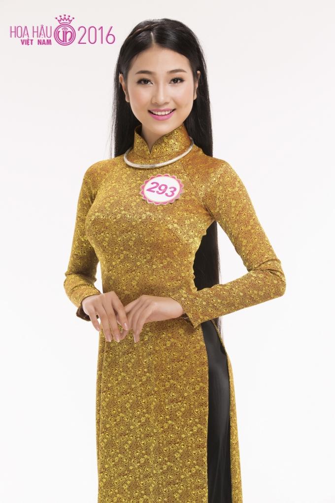 Cô gái Quảng Nam - Bùi Nữ Kiều Vỹ đã được xướng tên đầu tiên trong danh sách 18 thí sinh vào vòng chung kết toàn quốc Hoa hậu Việt Nam 2016.