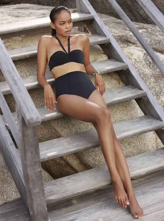 Lâm Thu Hằng đạt danh hiệu Người đẹp biển - Top 5 Hoa hậu Việt Nam 2008