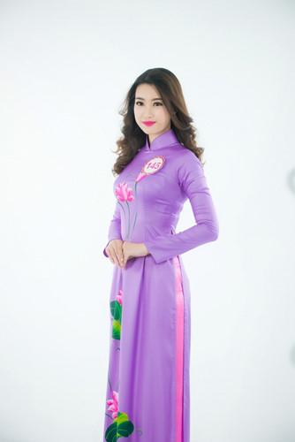 Đỗ Mỹ Linh, SBD 145, sinh năm 1996 và là sinh viên trường Đại học Ngoại thương Hà Nội