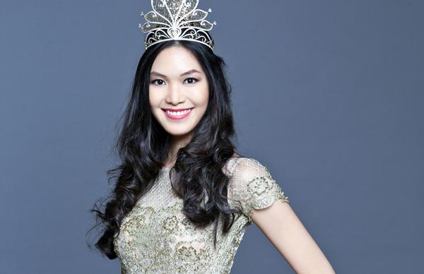 Thùy Dung đăng quang Hoa hậu Việt Nam năm 2008