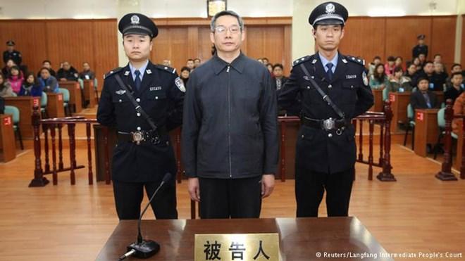 Một quan chức bị khởi tố tội tham nhũng Trung Quốc