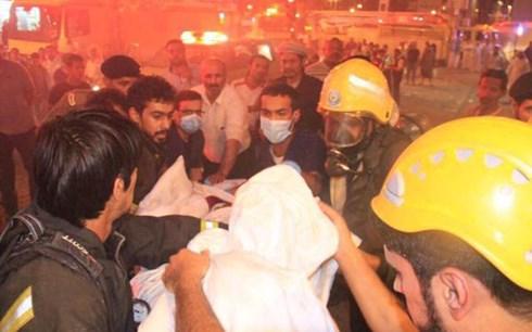 Hiện chưa rõ nguyên nhân về vụ hỏa hoạn lớn ở thánh địa Mecca