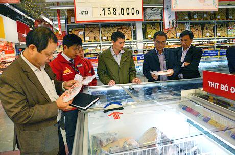 Bắc Giang đã phạt hàng loạt cơ sở kinh doanh hàng đóng gói sẵn sai quy định