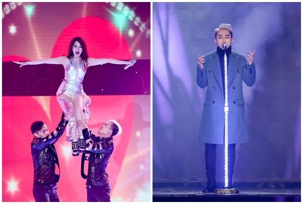 Bảo Anh và Sơn Tùng đều im lặng trước nghi vấn hát nhép tại The Remix 2015