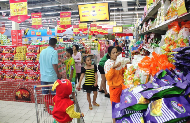 Thị trường bán lẻ Việt Nam nghiêng về nhà đầu tư nước ngoài