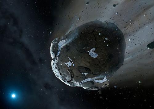 Thiên thạch sắp bay qua Trái Đất đúng ngày Halloween 31/10. Ảnh: NASA