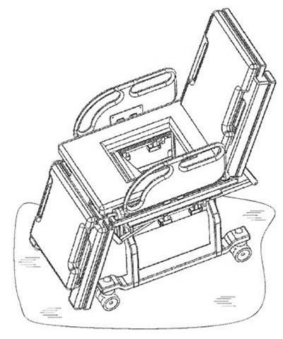 Đề tài Thiết bị nâng vận chuyển bệnh nhân (TDTU-001) của Trường ĐH Tôn Đức Thắng nhận Bằng sáng chế Hoa Kỳ tháng 12-2014