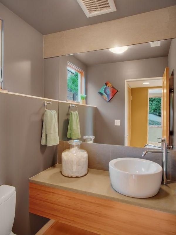 thiết kế nội thất phòng tắm 2015