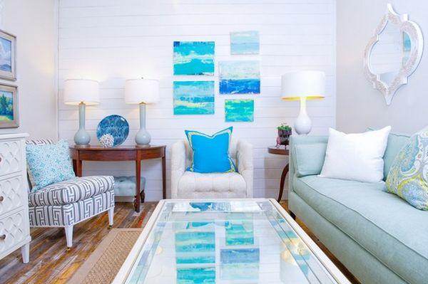 ý tưởng thiết kế phòng khách giúp rộng hơn