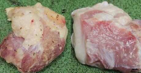 Săm pết biến thịt lợn bẩn thành thịt tươi