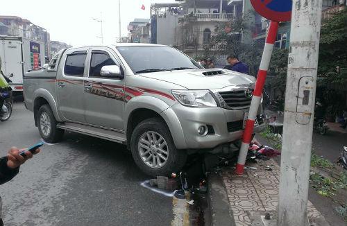 Rất may là không có nạn nhân tử vong trong vụ tai nạn liên hoàn ở Hà Nội