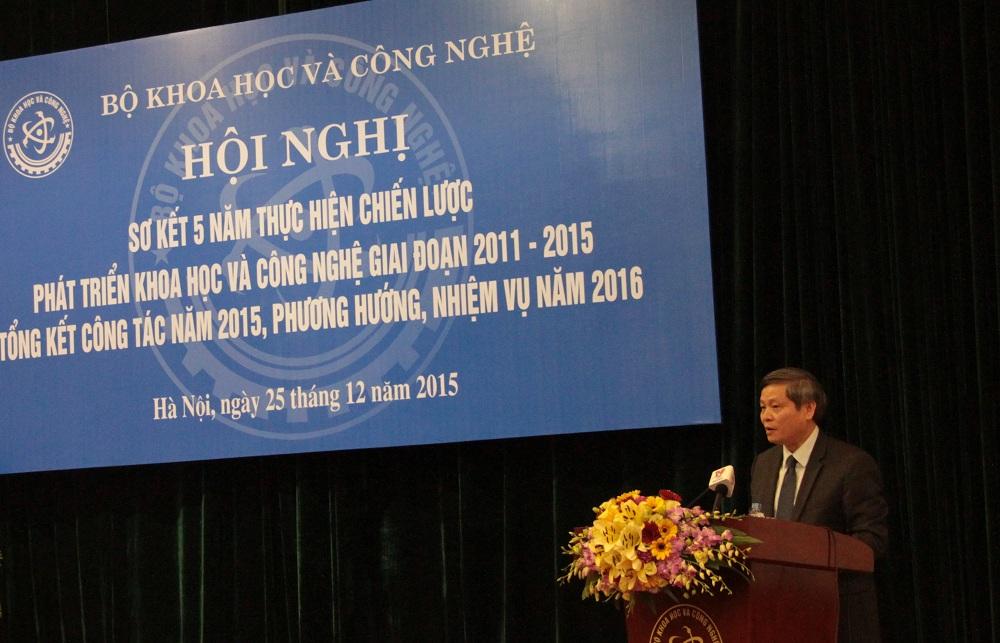 Thứ trưởng Bộ KH&CN Phạm Công Tạc