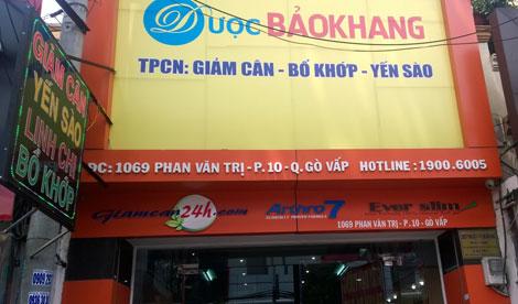 Bắt khẩn cấp giám đốc và kế toán công ty TNHH Bảo Khanh bán thực phẩm giảm béo giả