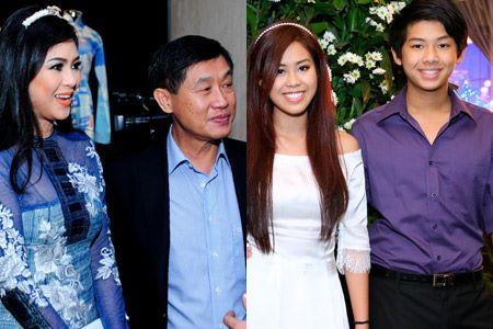 Thảo Tiên và Hiếu Nguyễn (ảnh phải) là con ruột của đại gia Jonathan Hạnh Nguyễn và bà Lê Hồng Thủy Tiên - cặp doanh nhân quyền lực giới tài chính Việt Nam.