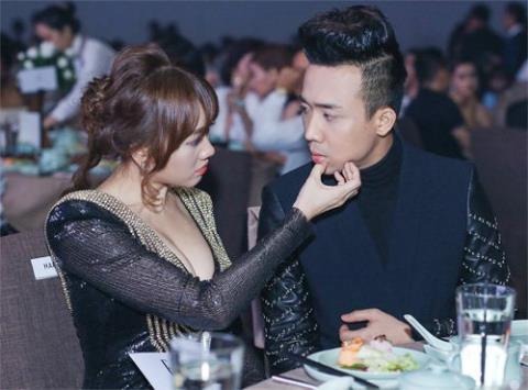 Có thể thấy, sau 9 năm yêu Rapper Tiến Đạt rồi chia tay, Hari Won đã tìm thấy được người đàn ông khiến cô hạnh phúc