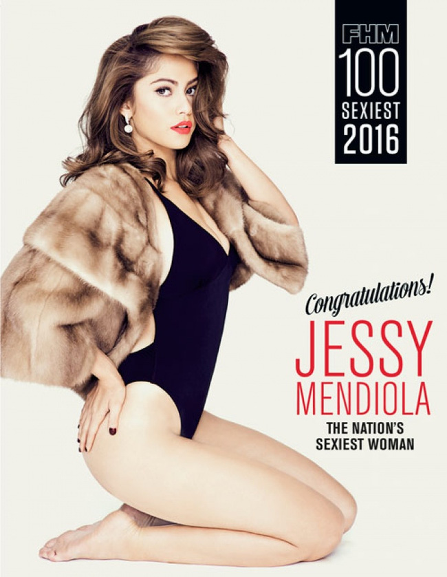 Tạp chí FHM vừa công bố danh sách những người đẹp, sexy nhất Philippines 2016. Đứng đầu bảng này là Jessy Mendiola - người mẫu, diễn viên mang 3 dòng máu.