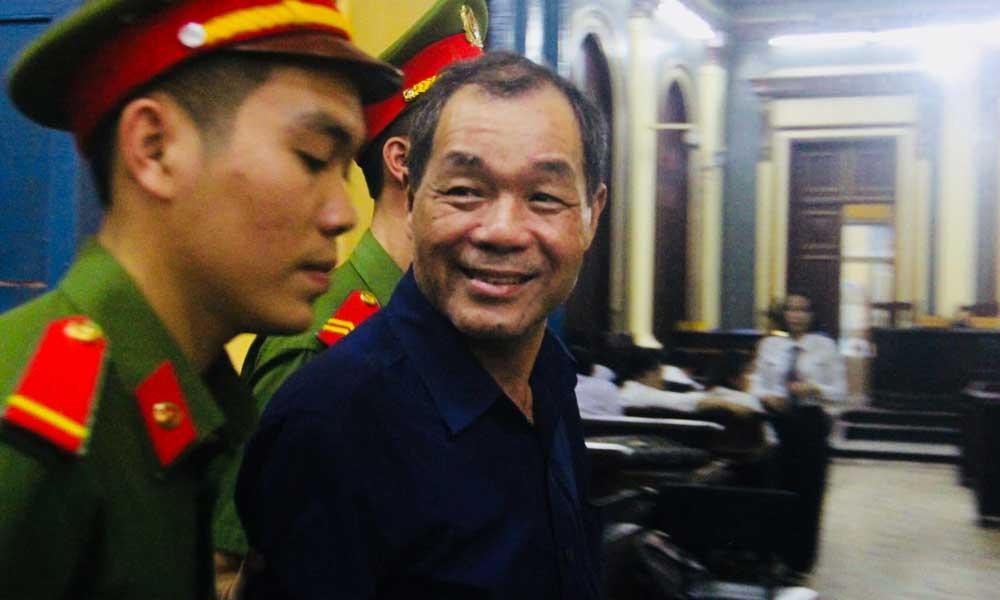 Bị cáo Trầm Bê. Ảnh: Vietnamnet