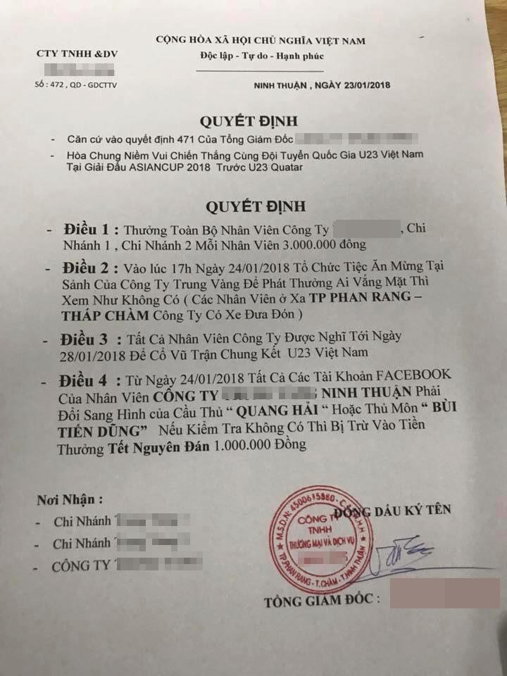 u23-viet-nam-cong-ty-chieu-dai-nhan-vien-sang-trung-quoc-co-vu-tran-chung-ket