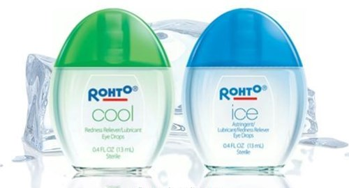 Thuốc nhỏ mắt Rohto thu hồi hàng loạt