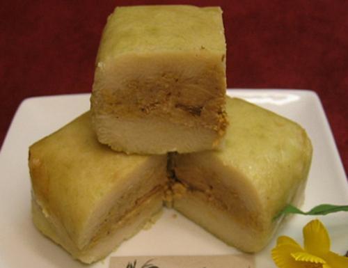 Bí quyết làm nên hương vị đặc biệt cho bánh chưng chay nằm ở nhân bánh