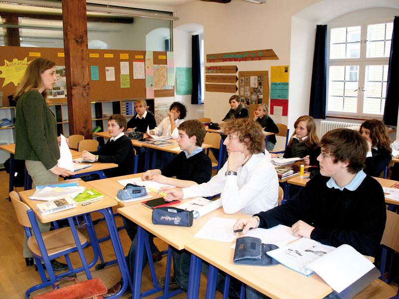 lớp học Đức