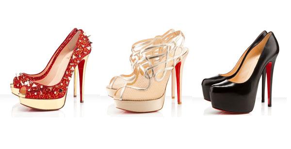 Giày để đỏ  louboutin